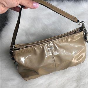 Patent Coach handbag